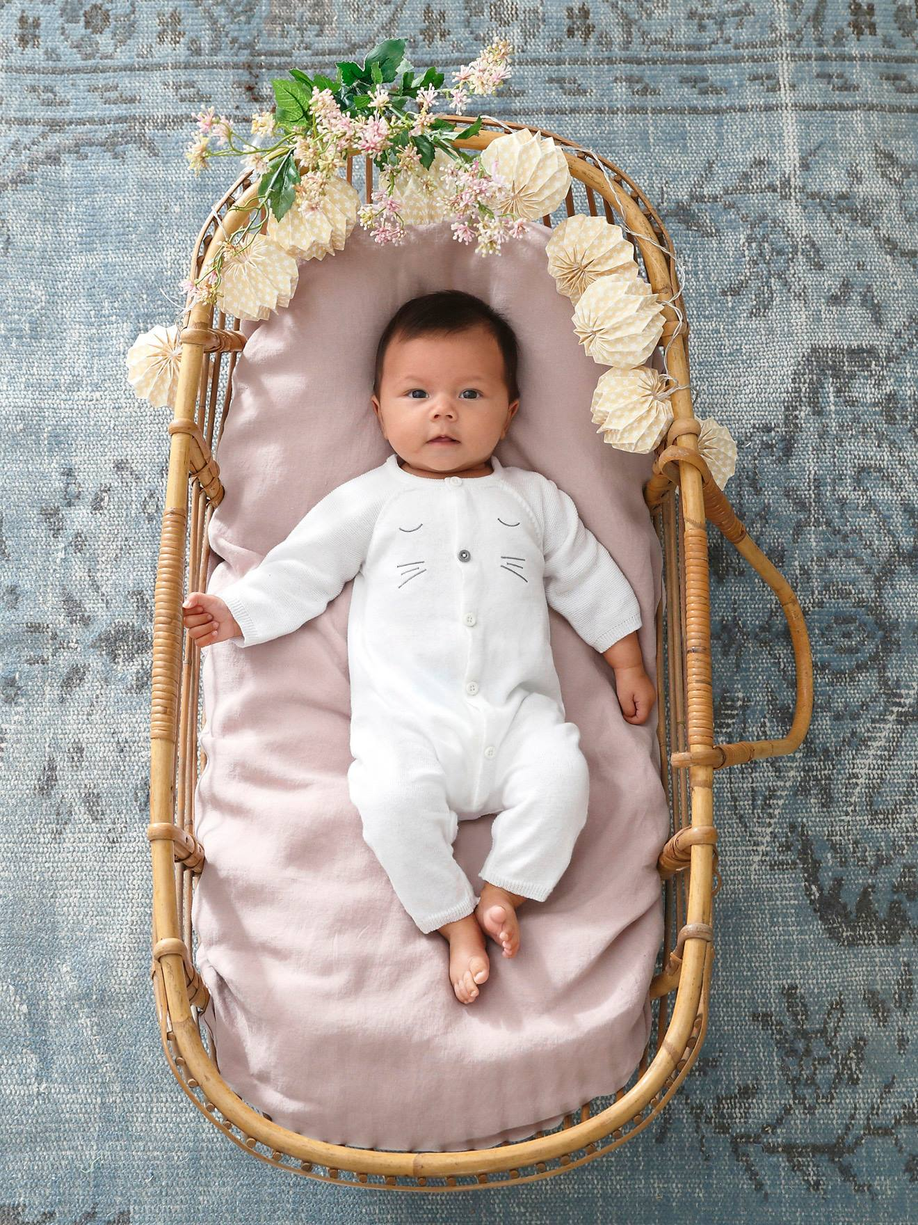 knitted jumpsuit for newborn