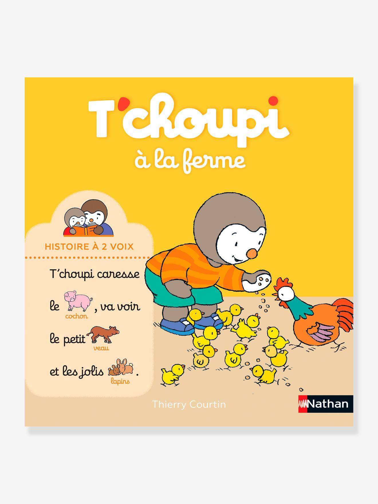 Tchoupi à La Ferme : tchoupi, ferme, Livre, T'choupi, Ferme, Histoire, NATHAN, Multico, Nathan