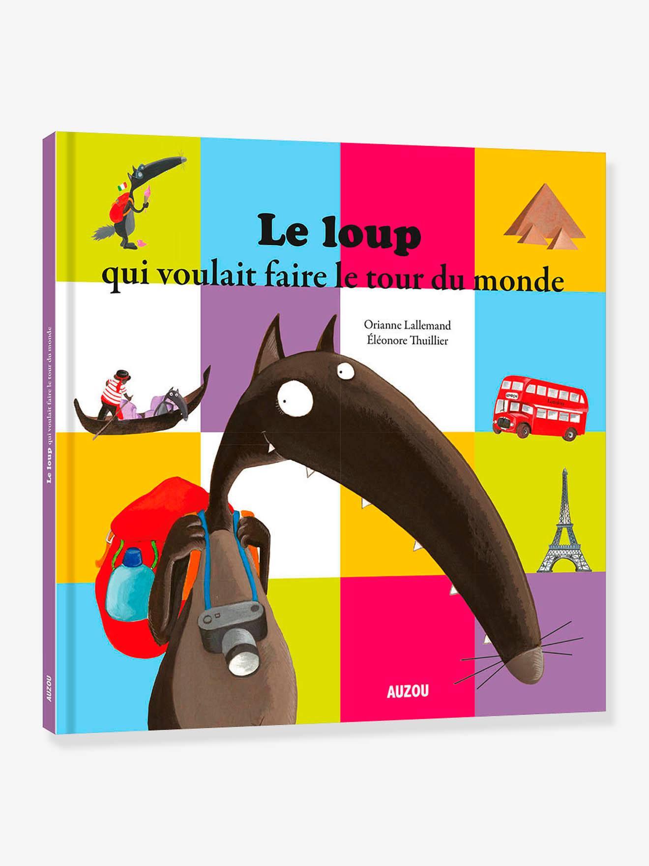 Le Tour Du Monde De Loup : monde, Livre, Voulait, Faire, Monde, AUZOU, Multico, Auzou, Sodis