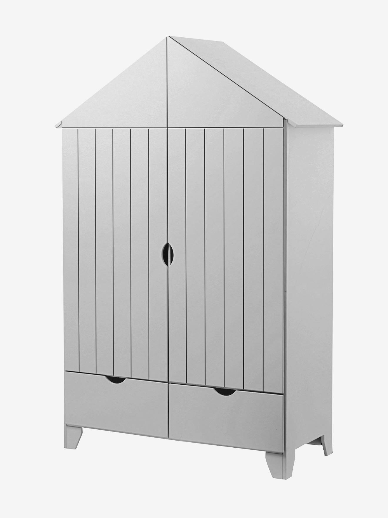 armoire 2 portes holidays xl gris