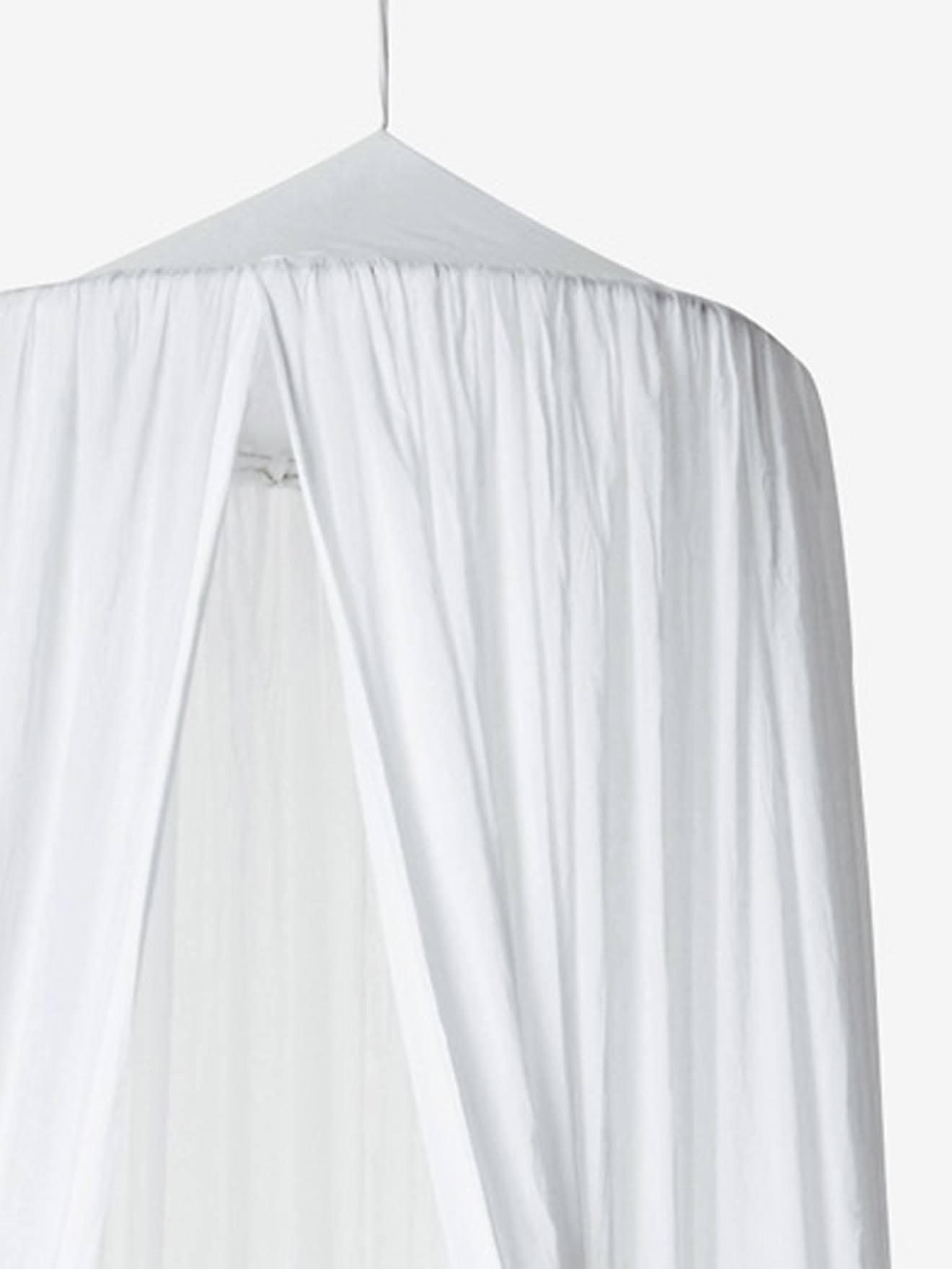 Ciel de lit Cocoon blanc  Vertbaudet