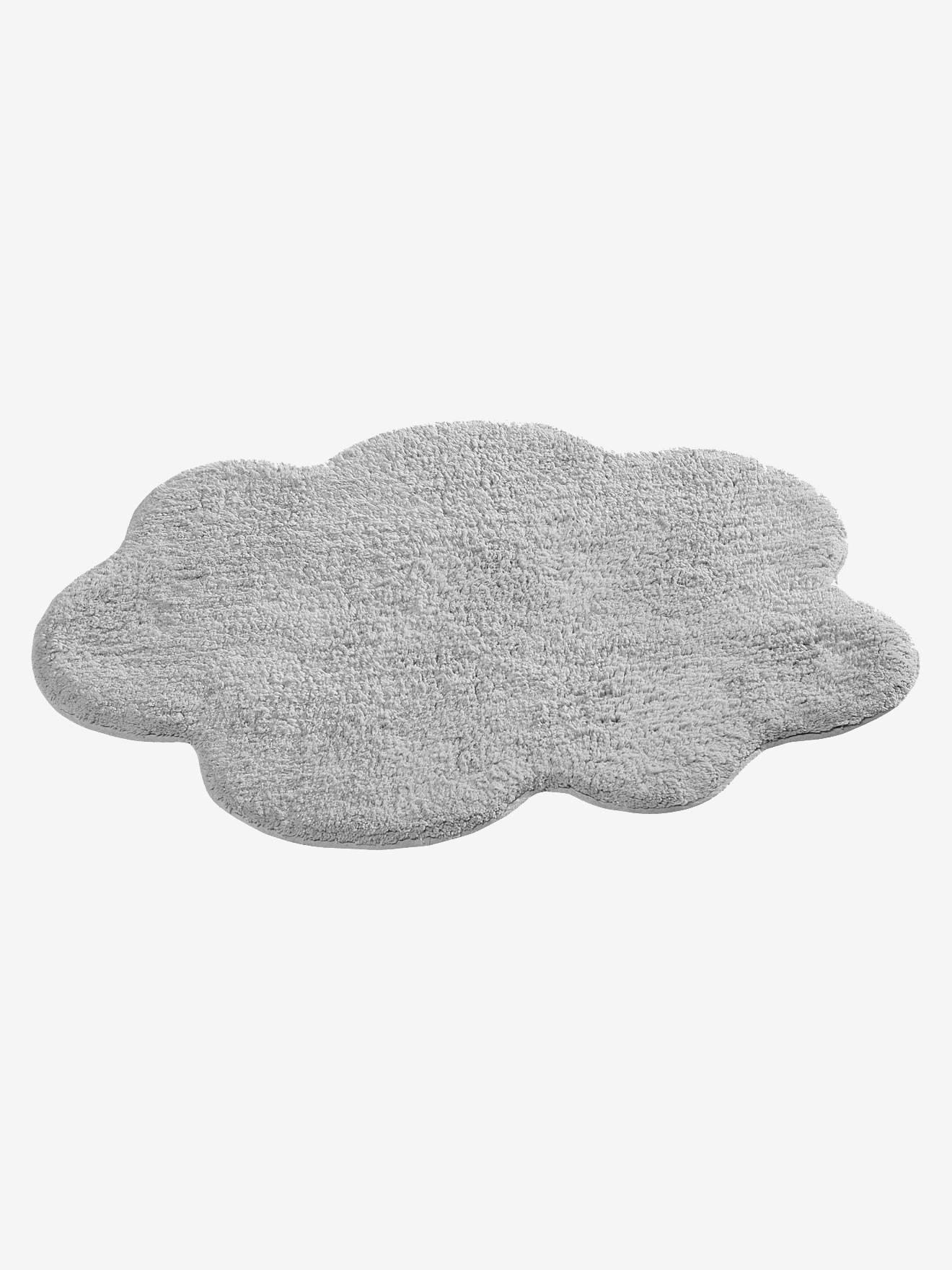 tapis nuage gris clair