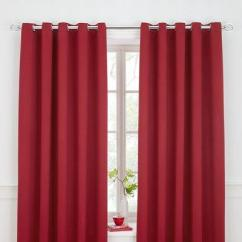 Red And Cream Curtains For Living Room Gray Yellow Ideas Bedroom More Very Co Uk Woven Blackout Eyelet