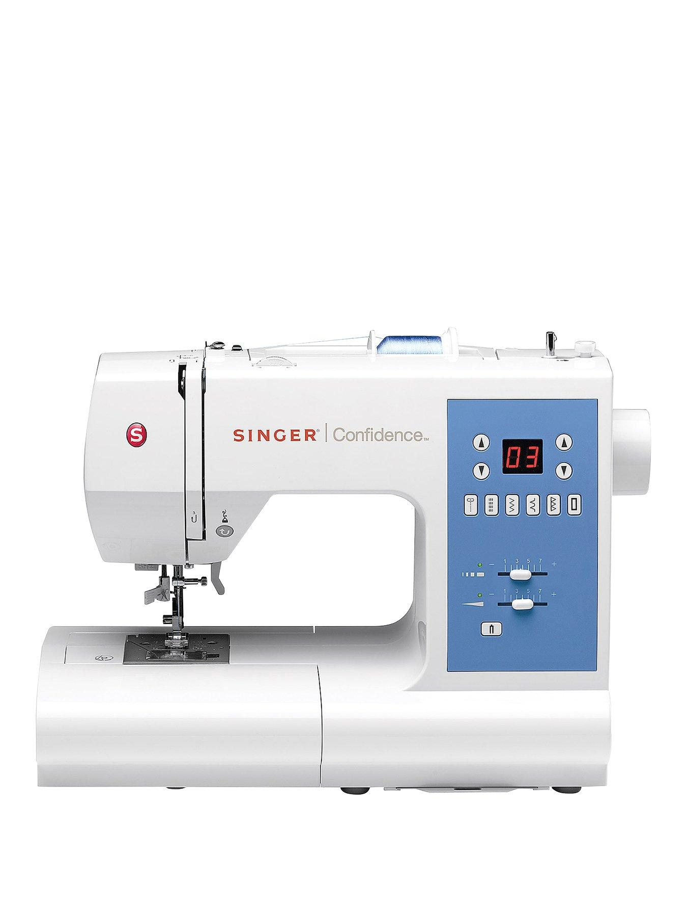 1980 Singer Sewing Machine : singer, sewing, machine, Singer, Confidence, Sewing, Machine, Very.co.uk