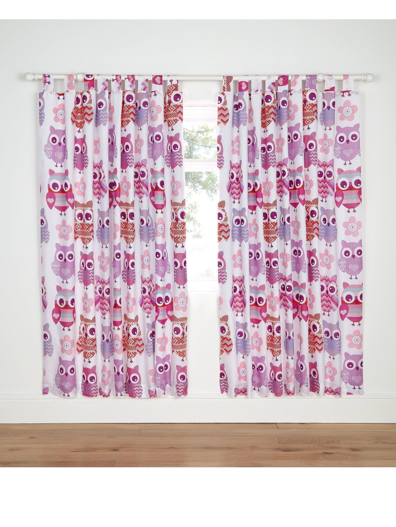 Kids Curtains Tab & Slot Top Curtains Curtains & Blinds