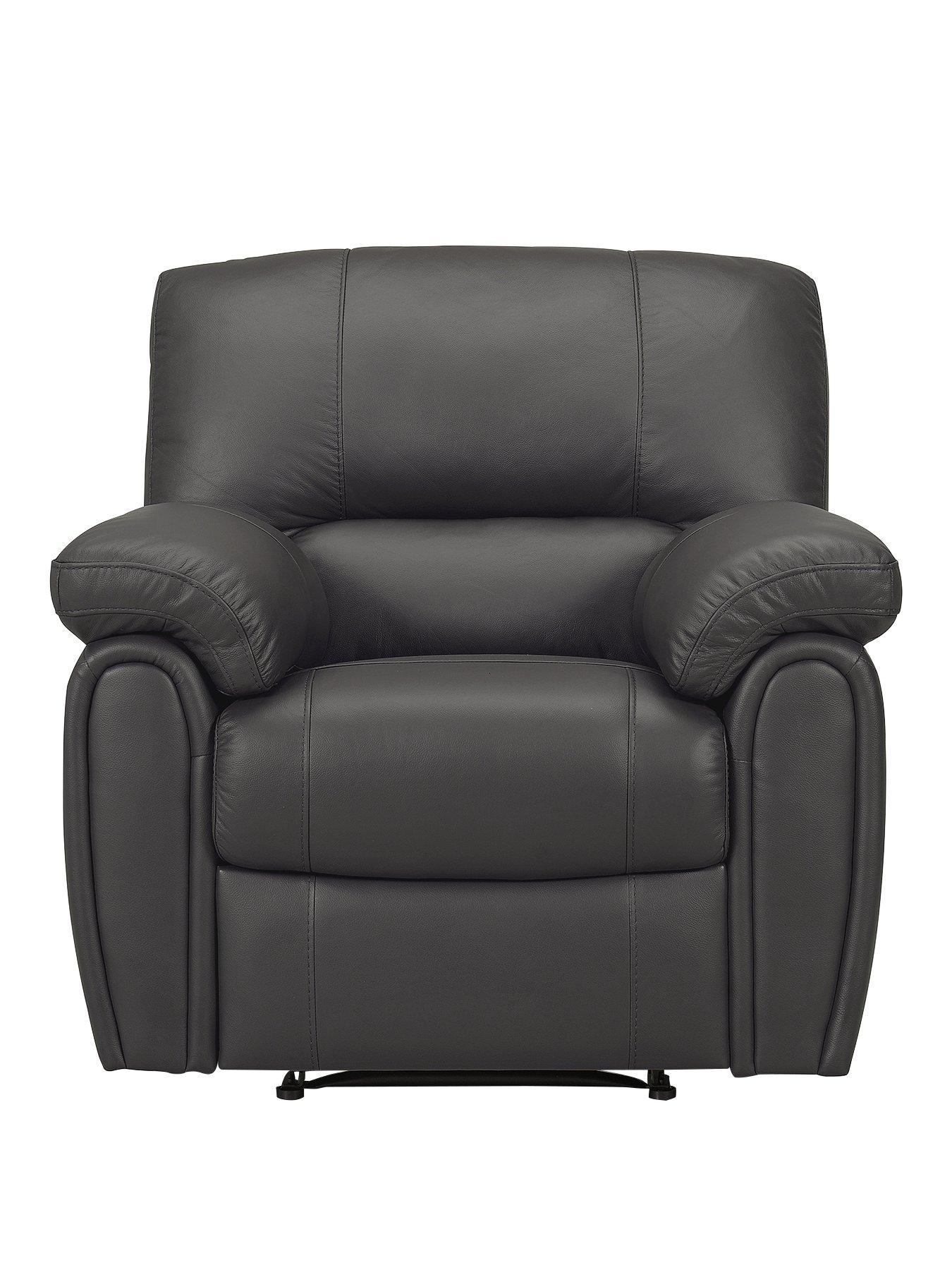 power recliner chairs uk office depot ergonomic violino leighton leather faux armchair very