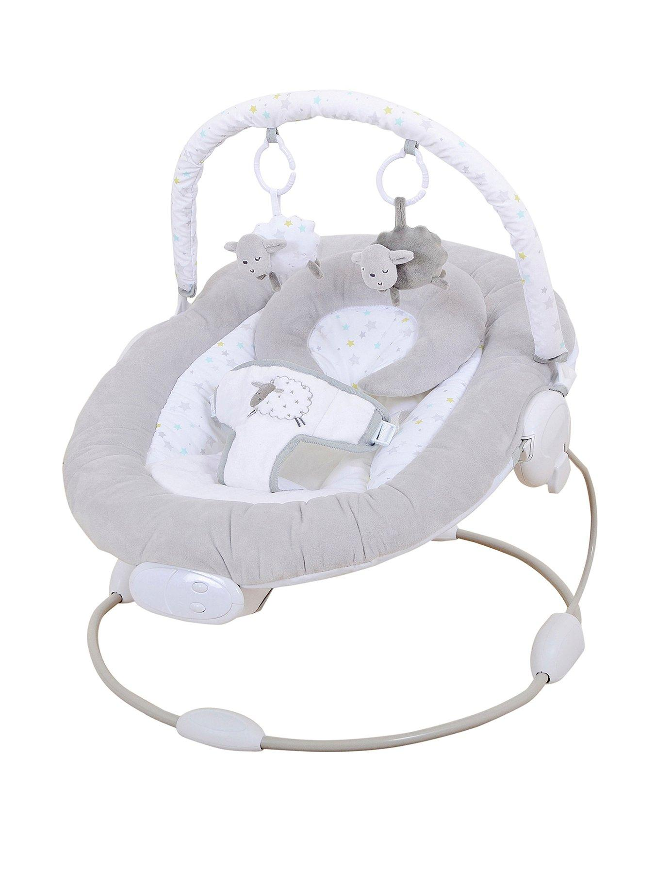 walker bouncing chair ikea recliner chairs sale baby bouncers walkers swing very co uk silvercloud counting sheep bouncer