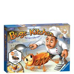 Kitchen Game Tall Cabinet With Doors Ravensburger Bugs In The Very Co Uk
