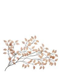 Copper Leaves Metal Wall Art | very.co.uk