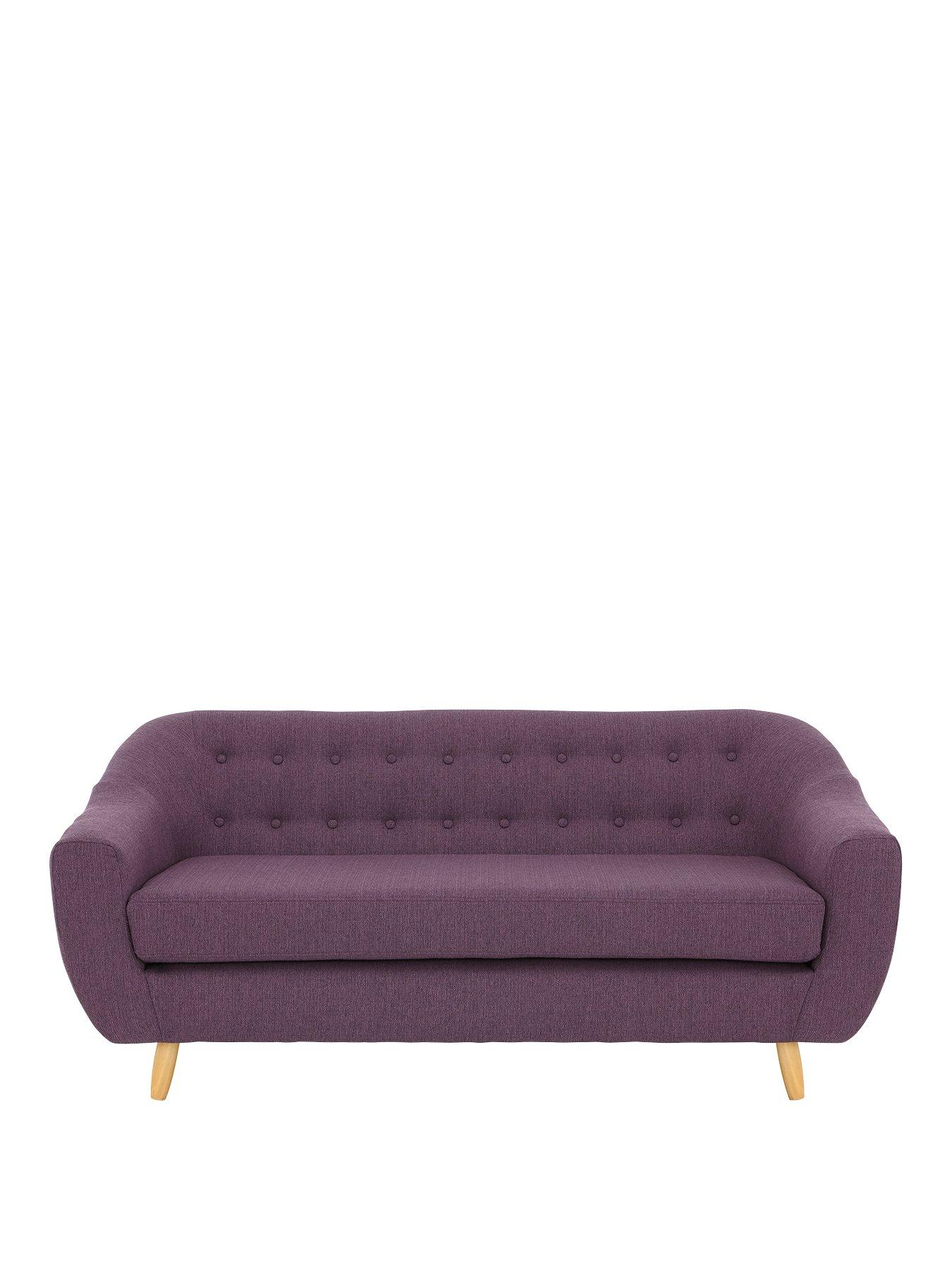 plum sofas uk craftmaster sofa fabrics claudia 3 seater fabric very co