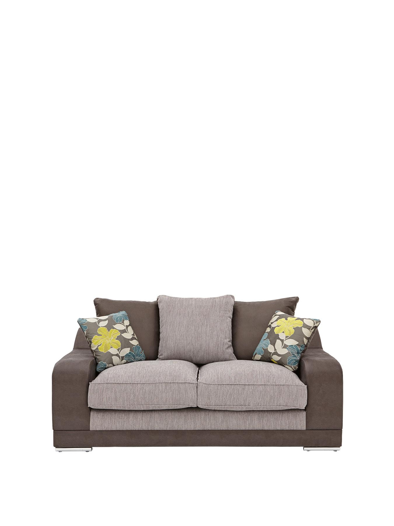 cheap 2 seater sofa covers click clack bed perth very from littlewoods ravenna grey