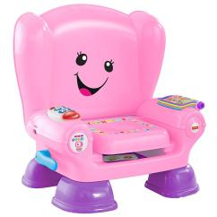 Fisher Price Chair Pink High Back Wingback Laugh And Learn Smart Stages