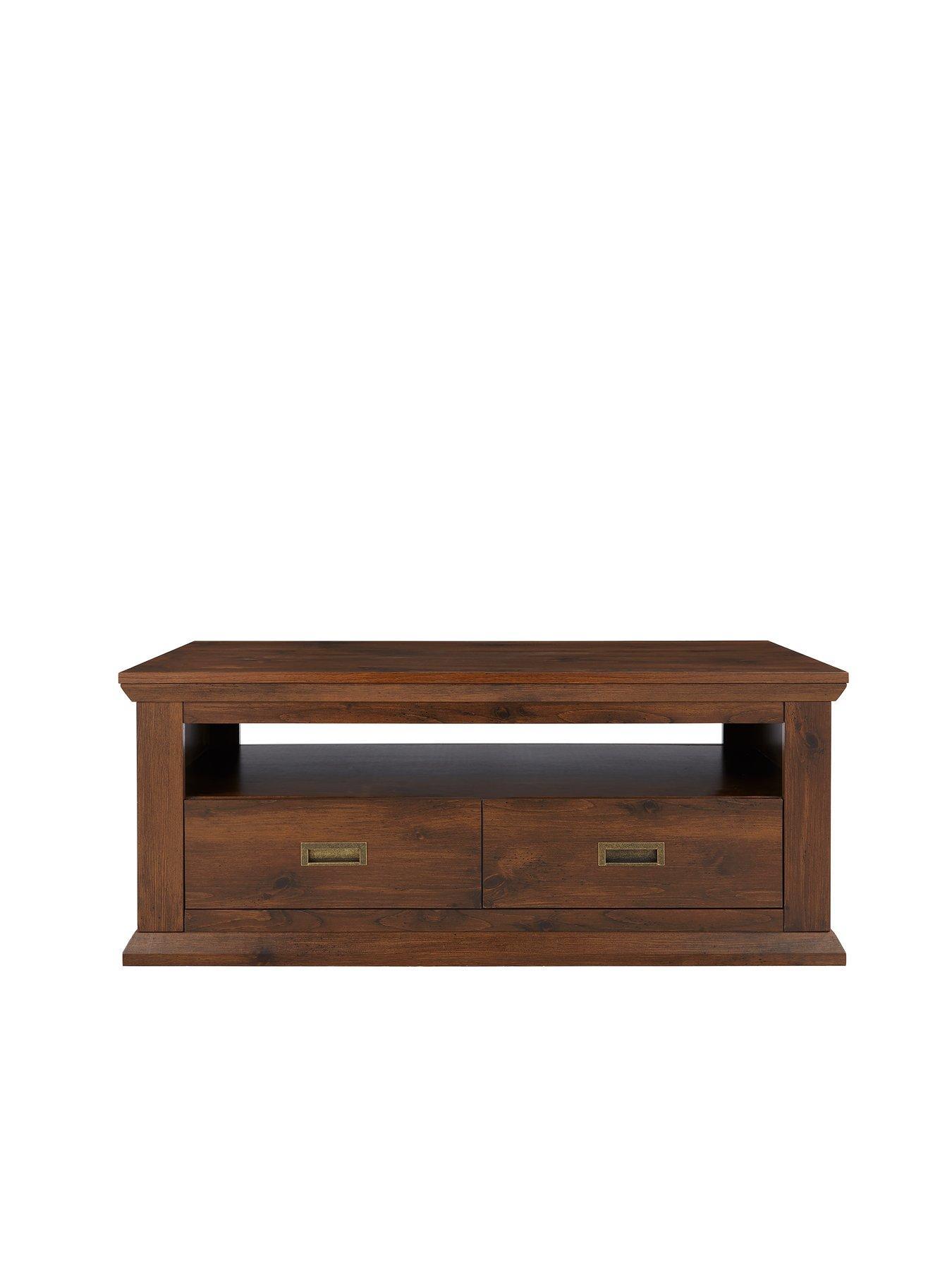 walnut furniture living room modular storage home garden very co uk clifton coffee table