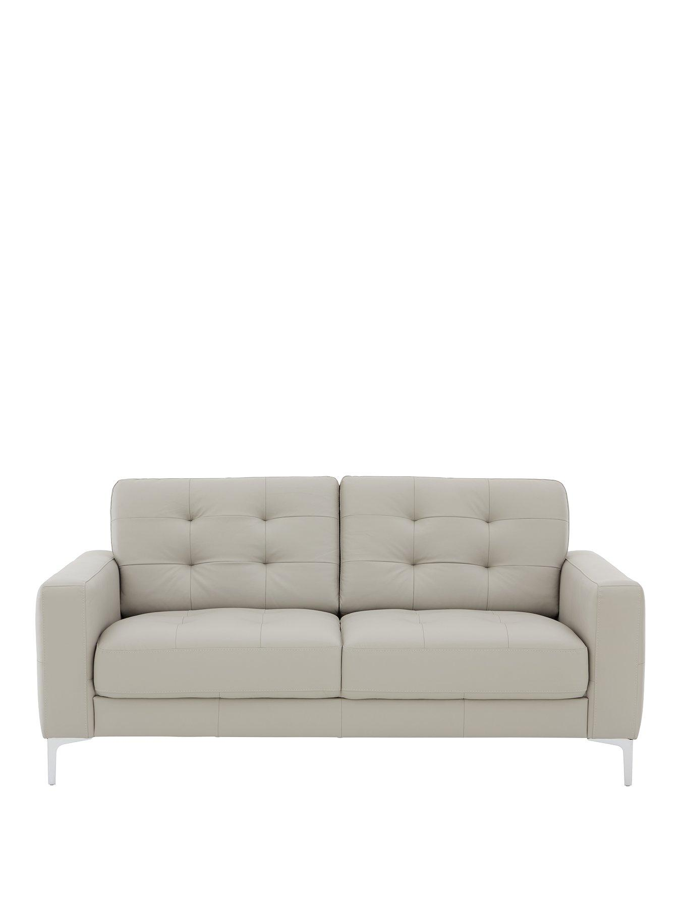 sofas quick delivery uk simple sofa set save on fast ideal home www very co brook 3 seater premium leather