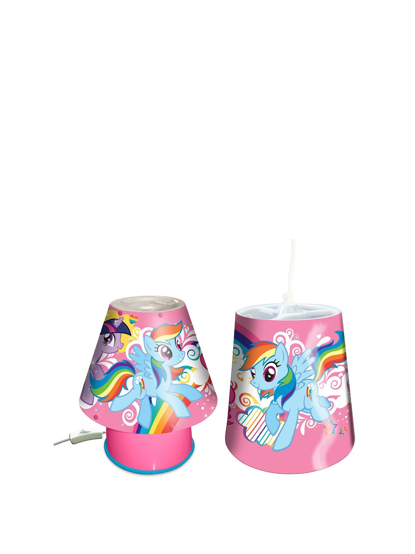 My Little Pony Lamp and Shade Lighting Set