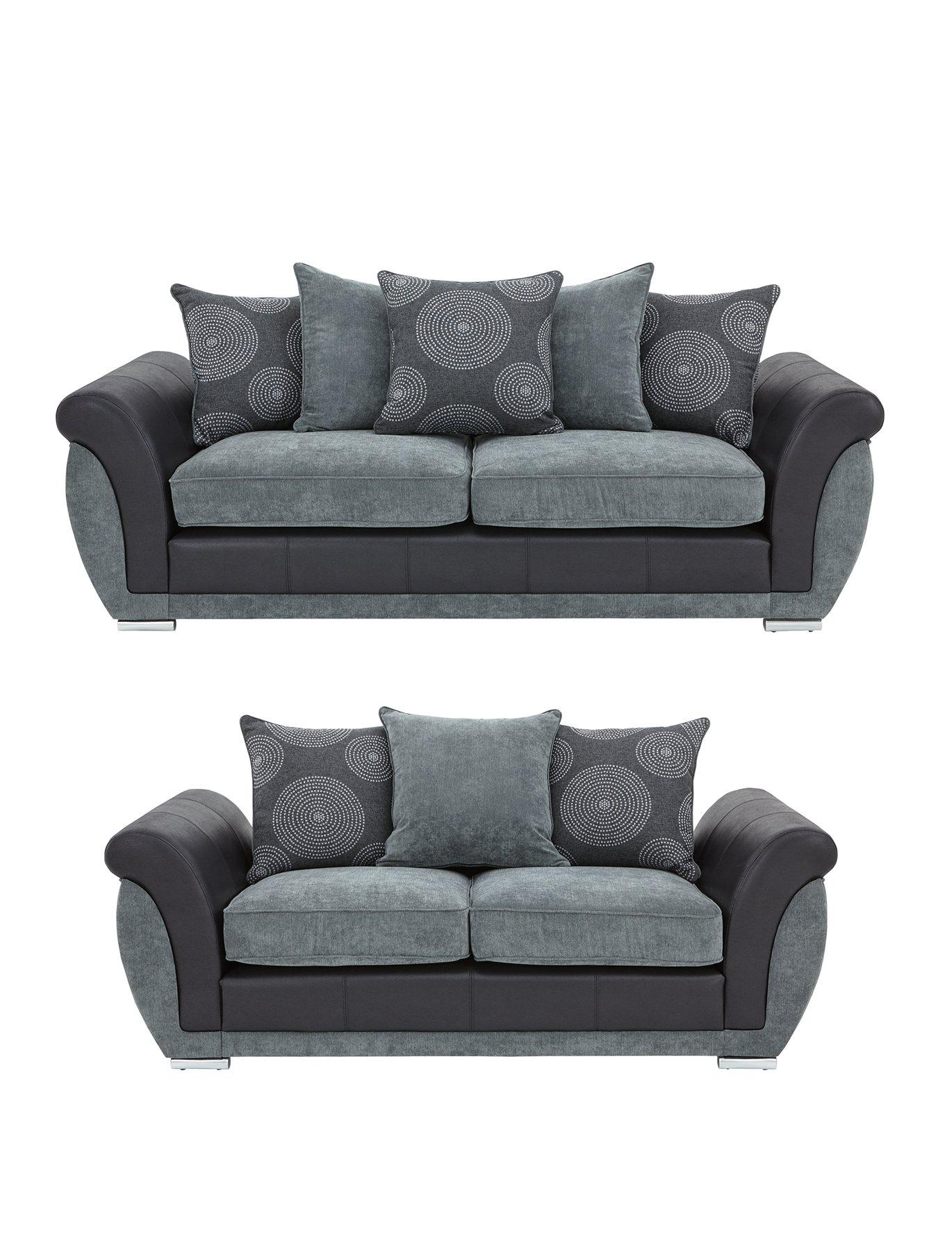 buy sofa uk how to clean sweat stains from leather danube 3 seater 2 set and save very co