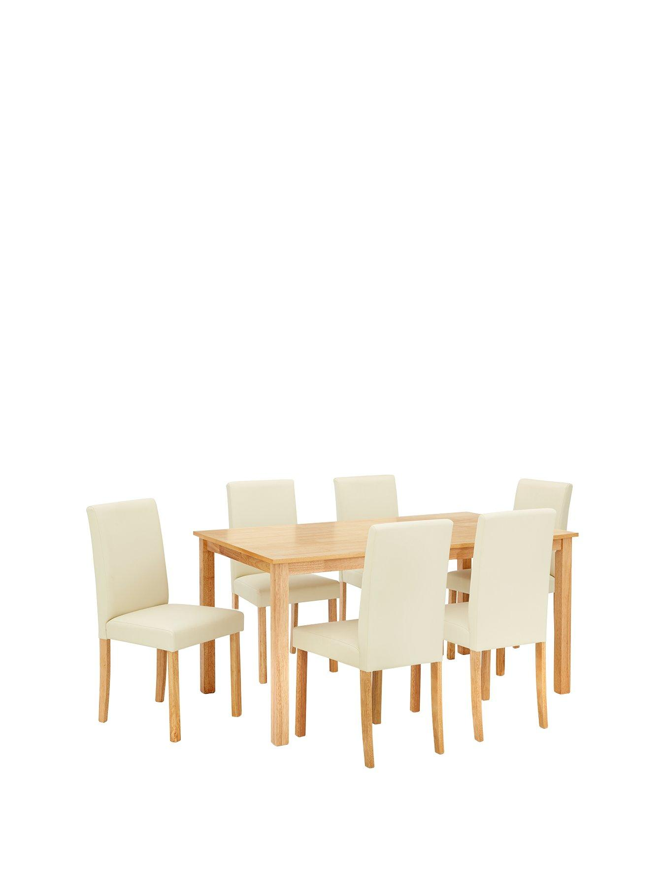 Dining Table And Chair Sets Dining Table And 6 Chairs Very Co Uk