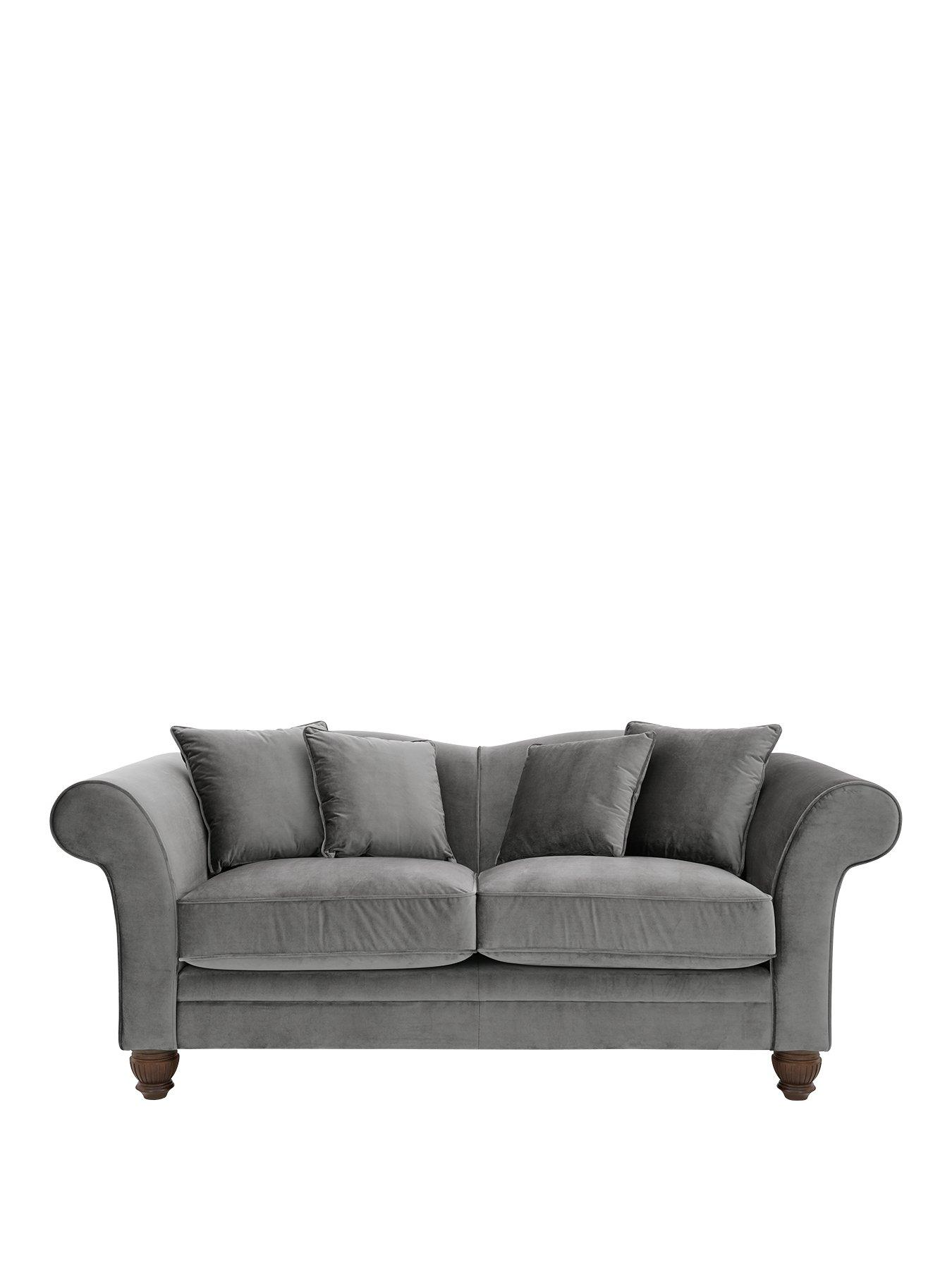 luxe 2 seat sofa slipcover two tone sectional collection sofas home garden www very co uk savannah seater fabric