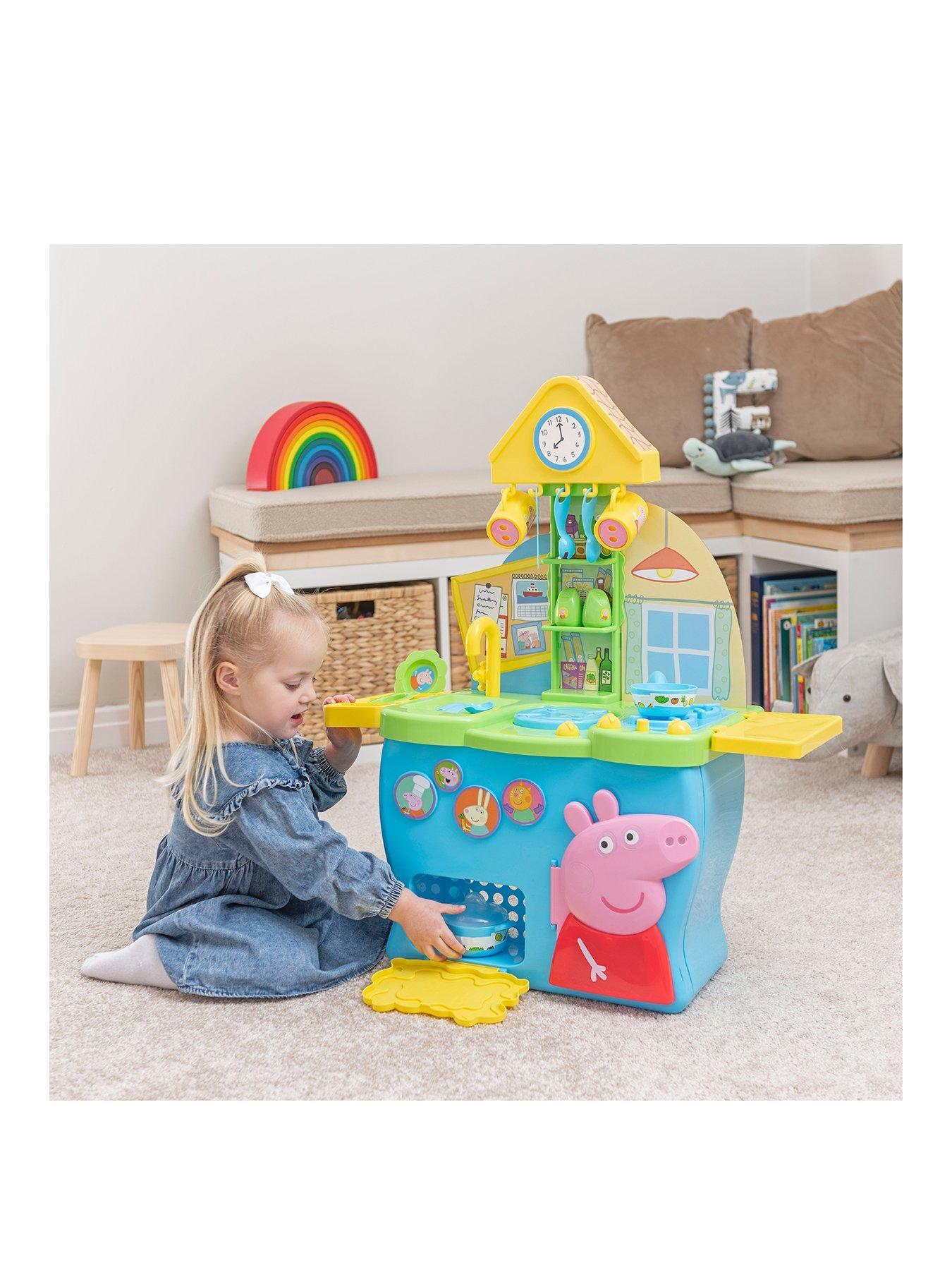 pig kitchen trolley peppa very co uk