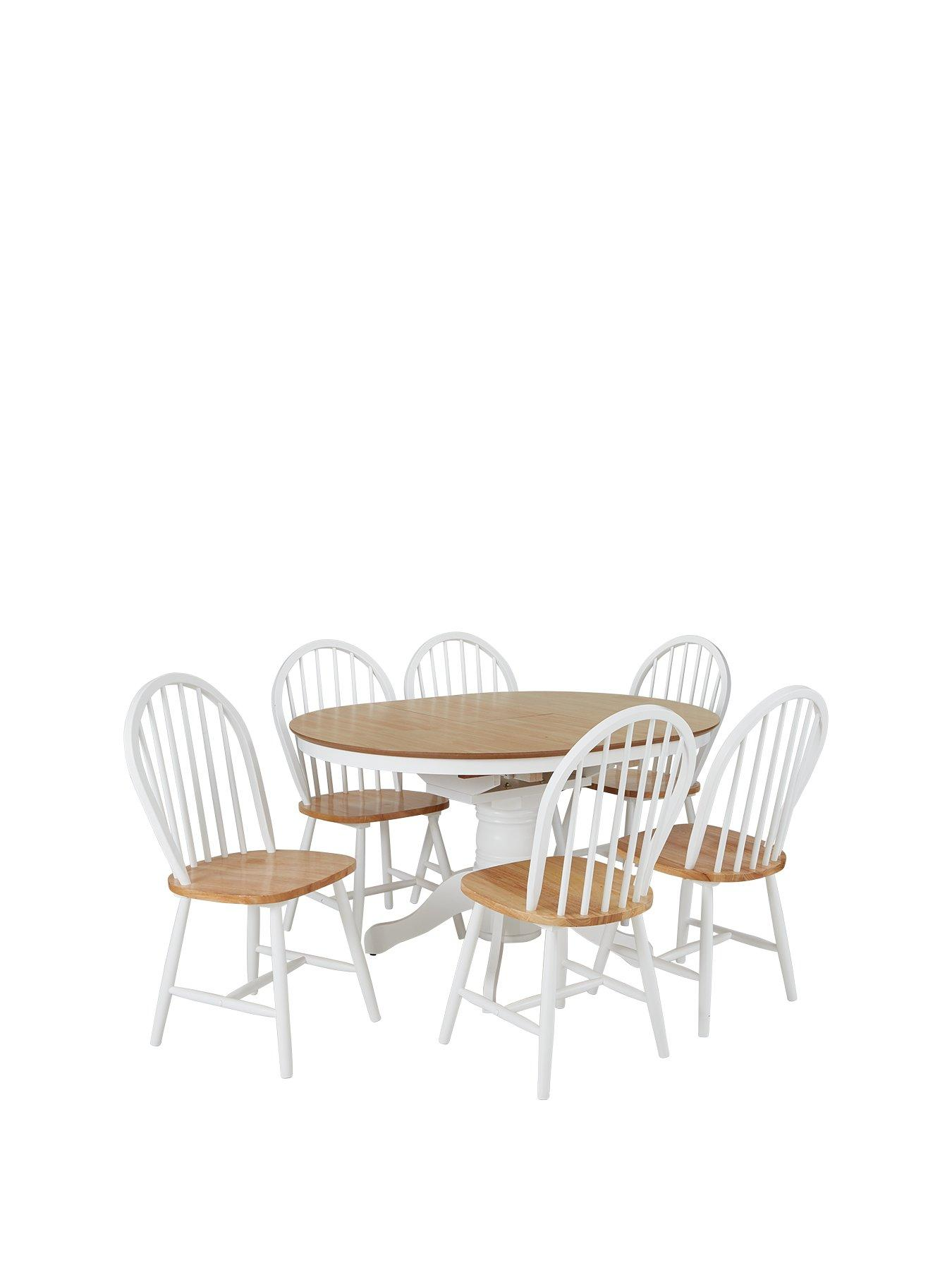 lidl fishing chair folding chairs at sam s club dining table sets tables 6 very co uk kentucky 100 130 cm extending round