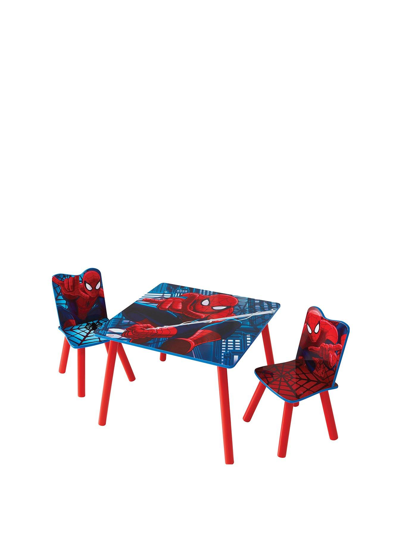spiderman table and chairs used for restaurant use spider man 2 by hellohome