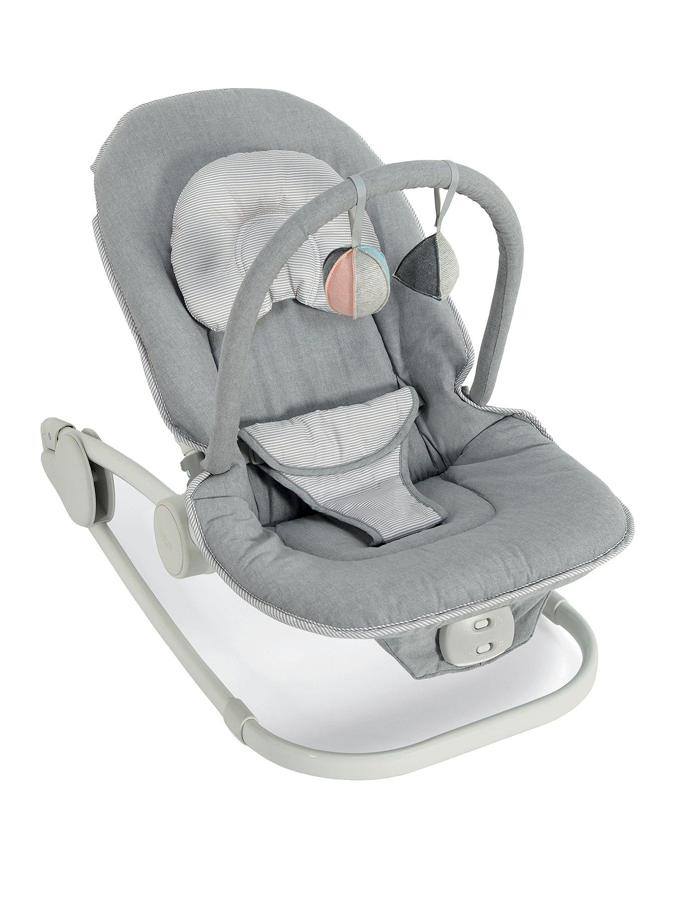 swing chair mamas and papas covers spandex bouncers walkers swings child baby www very wave rocking cradle grey