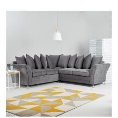 Cheap Fabric Corner Sofa Beds Uk Ikea Usa Table Sofas Large Small Very Co Dury Group Scatter Back