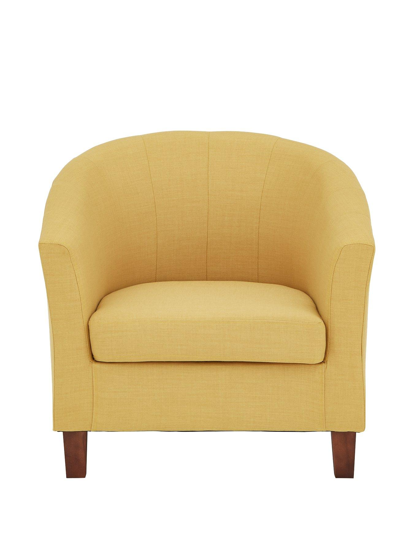 yellow bedroom chair tan office chairs home garden www very co uk