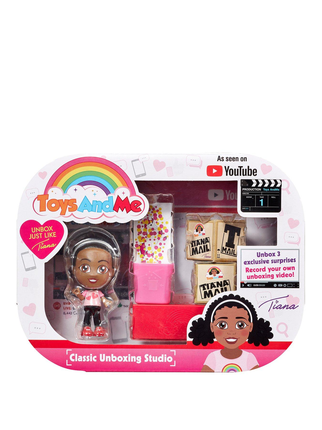 Toys And Me Tiana Unboxing Studio Classic Very Co Uk