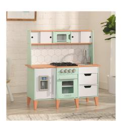 Kid Craft Kitchen Cheap Carts Sale Kidkraft Mid Century Modern Play Very Co Uk