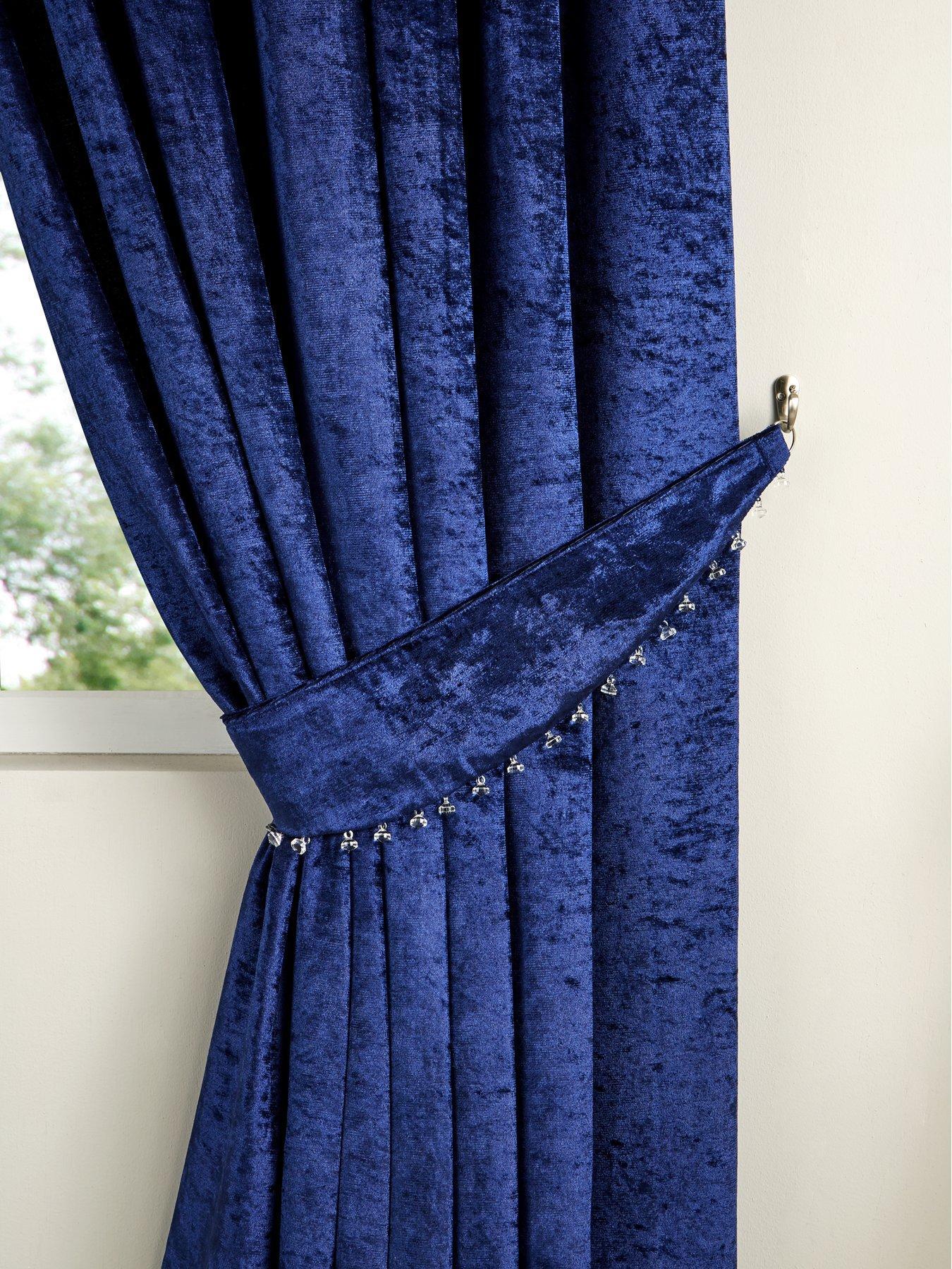 scarpa curtain tiebacks pair