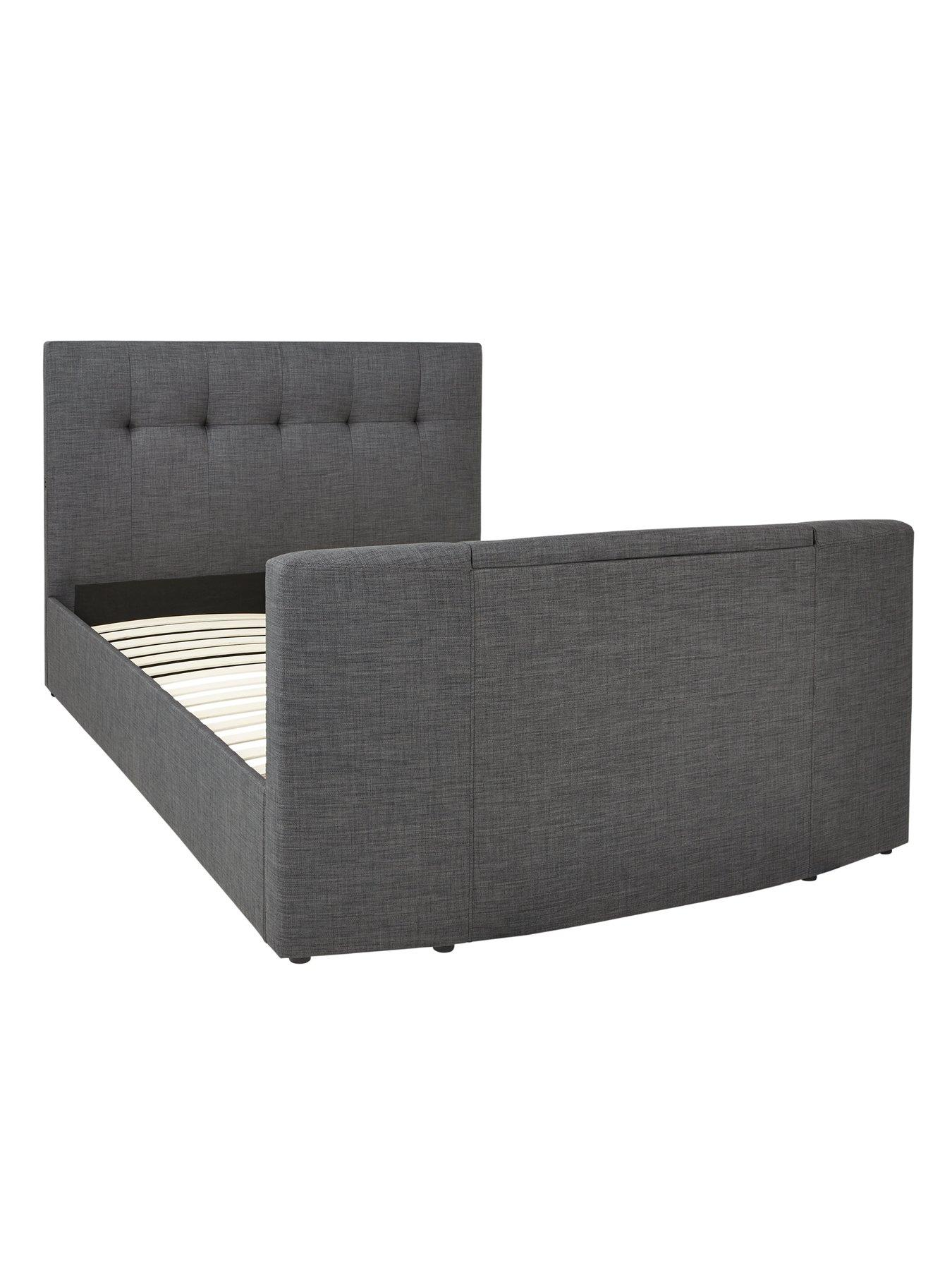 rialto sofa bed baja convert a couch and replacement fabric tv with bluetooth usb charging mattress view larger
