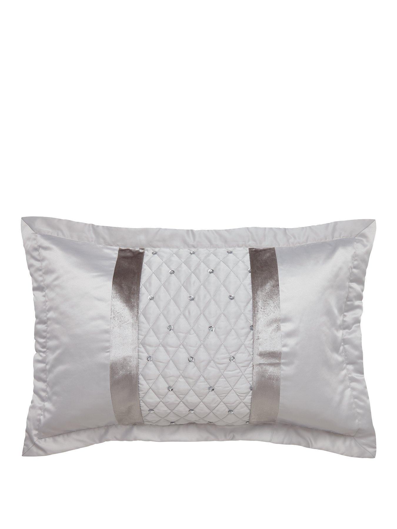 silver pillow cases bedding home