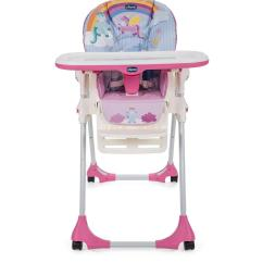 Chicco High Chairs Uk Transfer Chair For Shower Polly Easy Highchair Unicorn Very Co