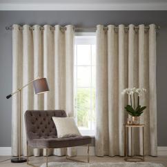 Cream Living Room Curtains Cabin Style Blinds Home Garden Www Very Co Uk Studio G Navarra Eyelet