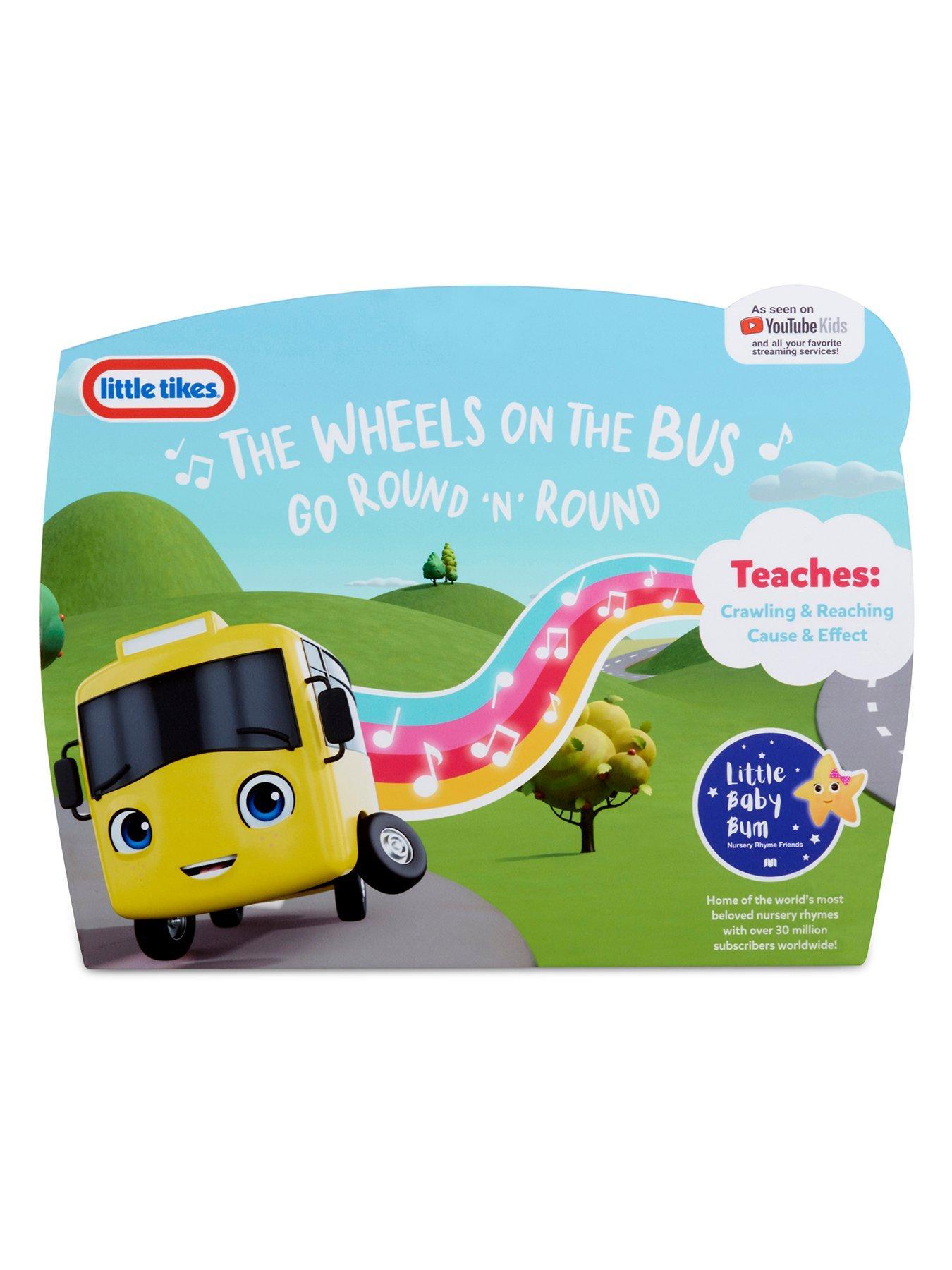 Little Baby Bum The Wheels On The Bus : little, wheels, Little, Wiggling, Wheels, Very.co.uk