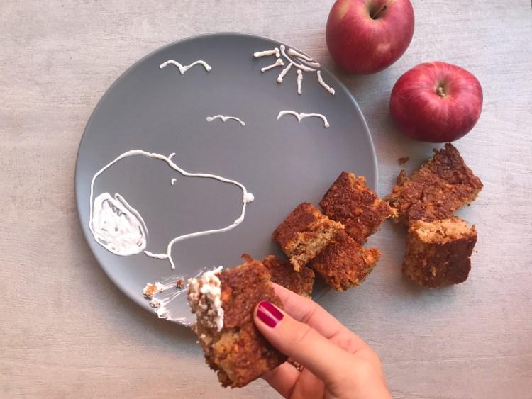 Kolač sa jabukama, bez brašna