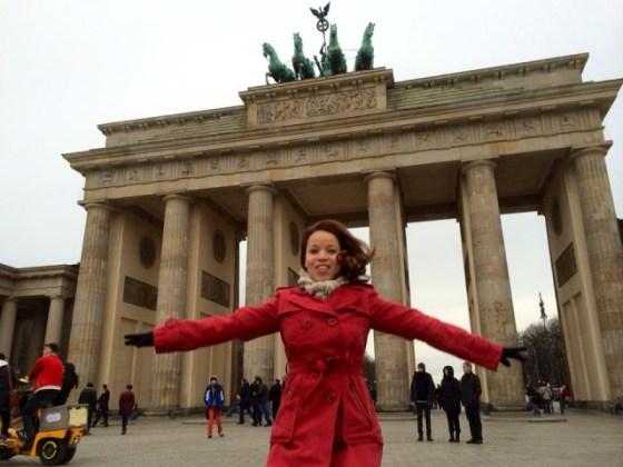 Portao de Brandemburgo - Onde acontece a queimas de fogos do Réveillon de Berlim. Foto por: Daniel Kifarkis