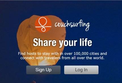 Couchsurfing / Share you life - Divida sua vida!