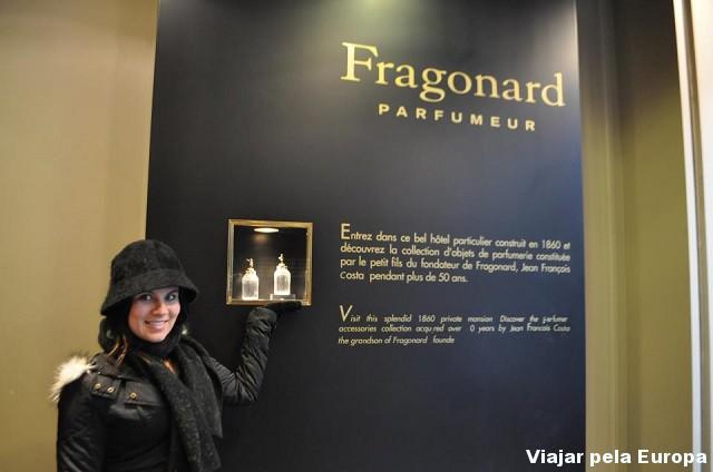 Naiara Back no Museu Fragonard, Paris.
