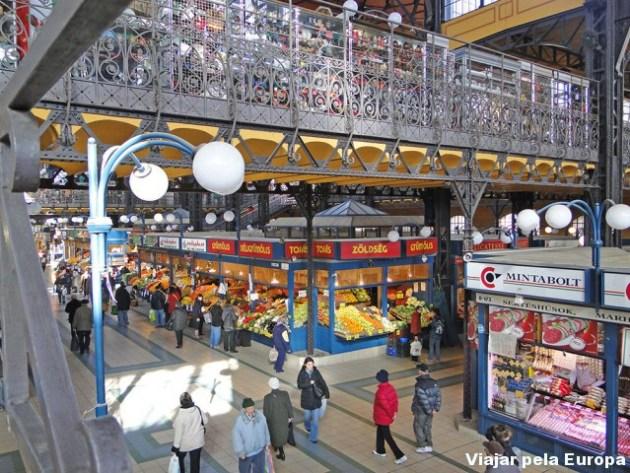 Interior do mercado