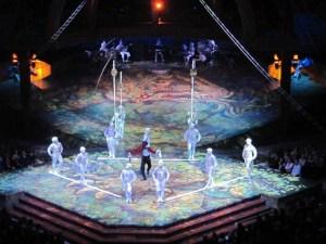 'Alegria' Cirque du Soleil - Ericson Globen - Estocolmo (Foto por: Gisele Almeida)