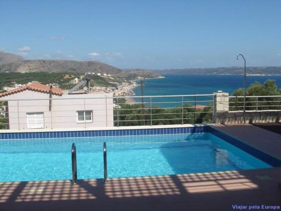 Nossa casa em Creta disponível para aluguel no site airbnb.