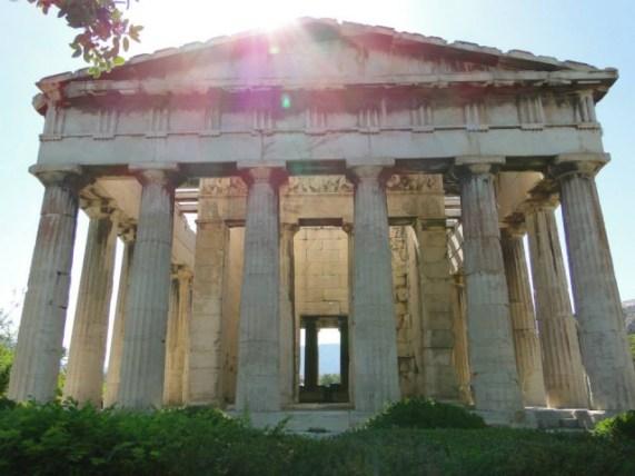 Templo de Hephaestus - Atenas. Foto por: Naiara Back
