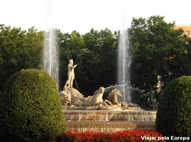 Fuente de Cibelles, Madrid.
