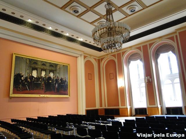 Salão do Prédio da Prefeitura