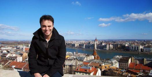 Daniel em Budapeste