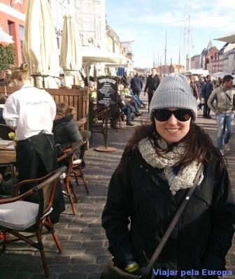 Nathalia em Nyhavn.