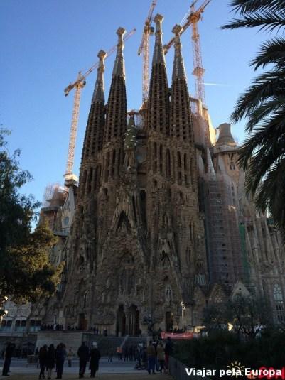 Sagrada Família, Barcelona.