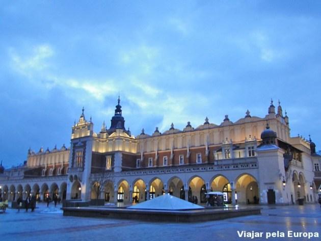 Praça principal de Cracóvia
